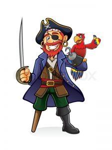 En enbent pirat trenger litt hjelp...