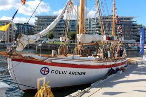 Om jeg noengang konverterer til seilbåt blir det en Colin Archer!