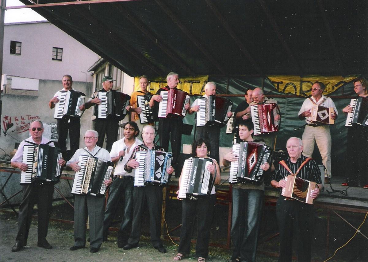 Trobada acordionistes 2007