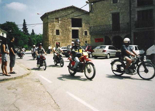 Trobada motos antigues 2003