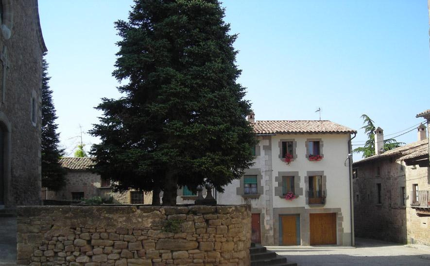 plaça església