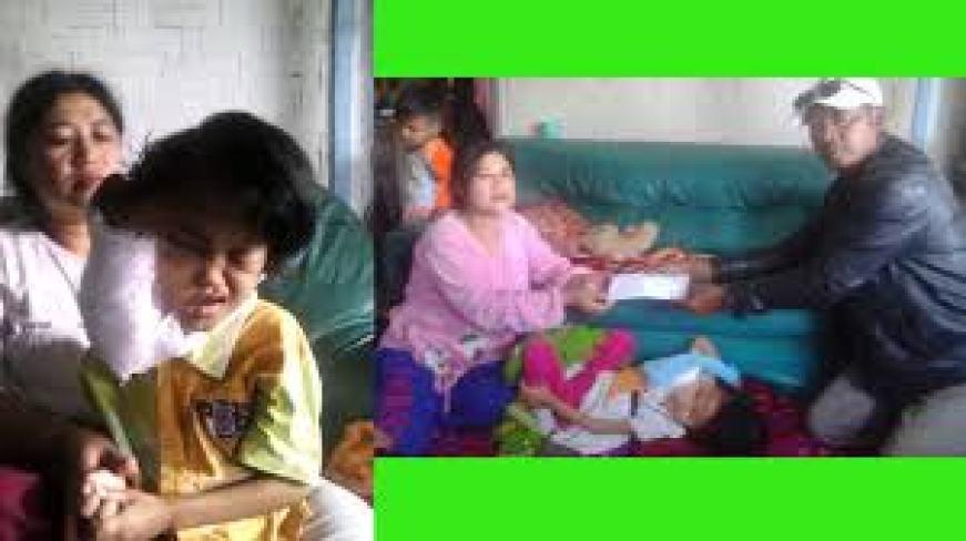 Lipsus TEPG-FMP Almira Bocah 7th Penderita Tumor Ganas Butuh Uluran Tangan