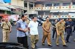 Bupati Suwirta Cek Sistem Keamanan Dan Pelaksanaan Proyek Pasar Seni