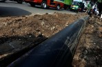 Diduga, Volume Pemasangan Pipa Kurang 60 Meter Kasi DPKP Cimahi Berkelit