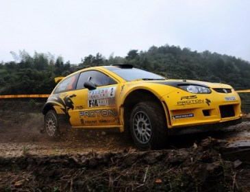 PROTON LEADS RALLY OF CHINA