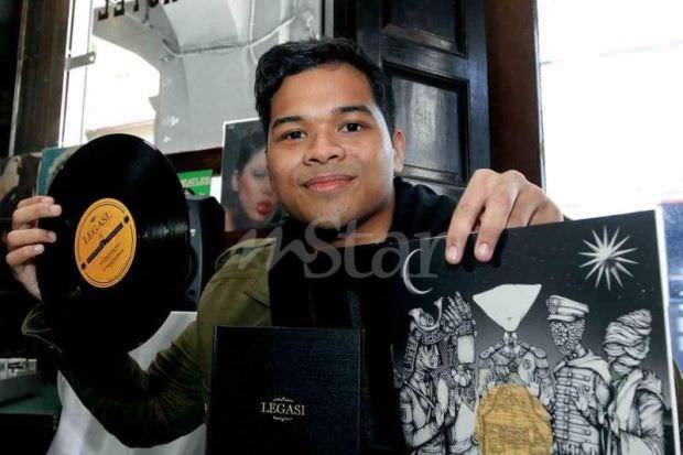 Uji Rashid Beri Inspirasi Aizat Amdan Buat Album Piring Hitam