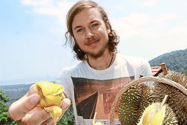 Swede's love at first bite – durian