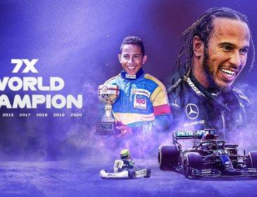 Hamilton Sah Juara Dunia Ketujuh