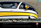 November 2012 MonoTracer of Switzerland Calendar - Matching sunglasses in the Super-Bee! (EcoMobiles built from 1986 - 2005)