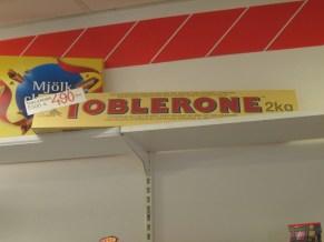 2 kg toblerone