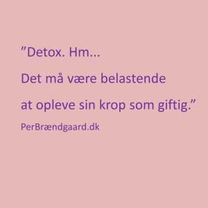 Detox cut