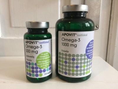 Apovit fiskeolie med koncentreret omega-3