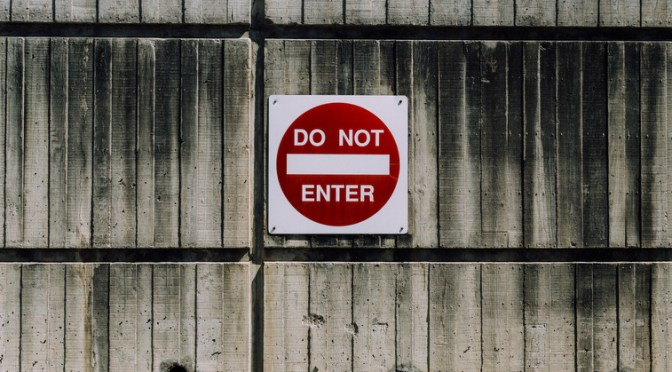 Risikoen ved slut med forbudt