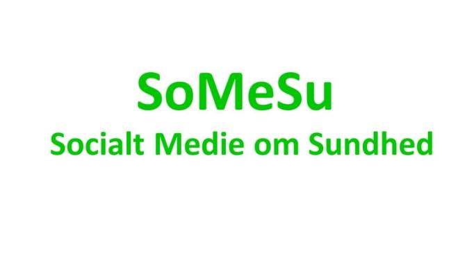 Opret gratis profil på SoMeSu socialt medie om sundhed
