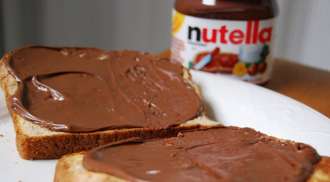 Mit liv med trøstespisning: thank God for Nutella