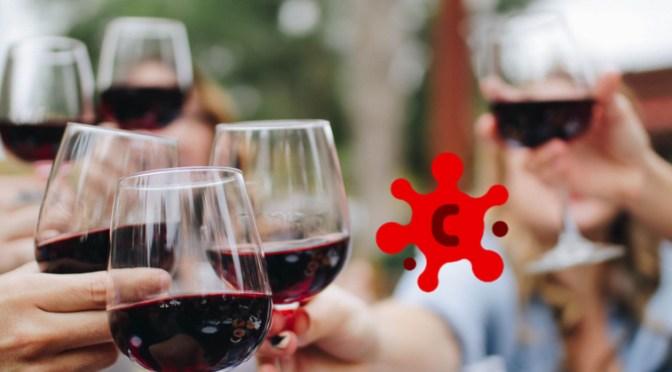 Kan rødvin beskytte mod corona?