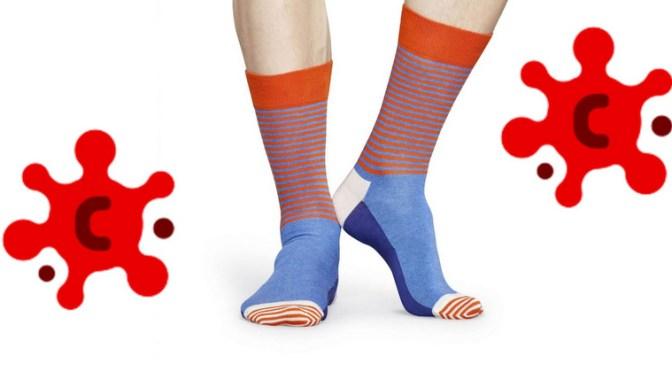 Hvor mange dør med sokker?