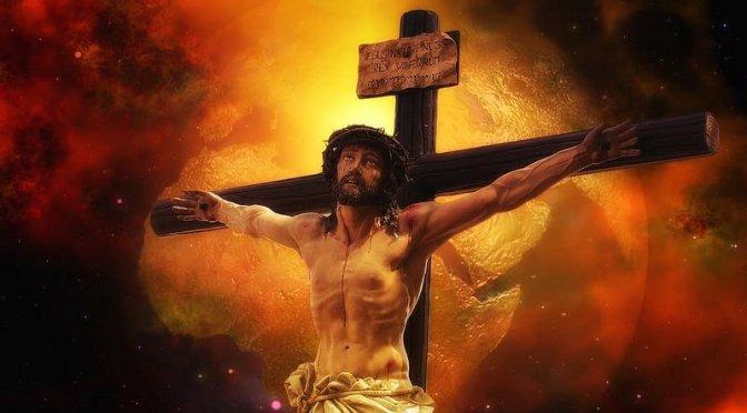 De falske jøder og deres propaganda slog Jesus ihjel