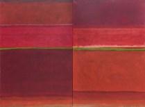 Crveni krajolik, 2012., diptih