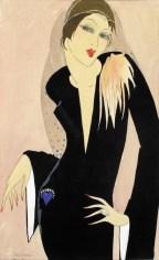 Dama u crnoj haljini, 1927.