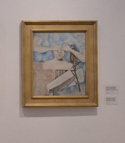 Enigmatska kompozicija - Kompozicija s rukama, 1932.