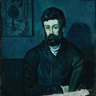 Portret muškarca, Paris-Barcelona, zima 1902.-1903.