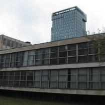 Radničko sveučilište Moša Pijade - Radovan Nikšić i Ninoslav Kučan, 1961. (stražnja strana)