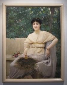 Vlaho Bukovac, Mlada Patricijka, 1890.