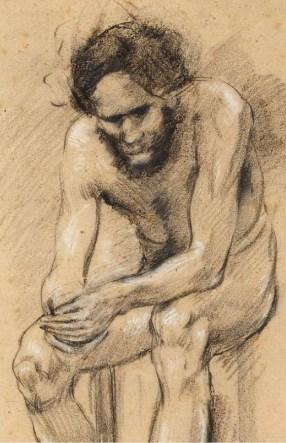 Autoportret, 1912. (detalj)