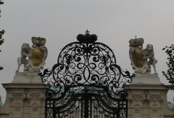 Glavne dveri Gornjeg Belvederea