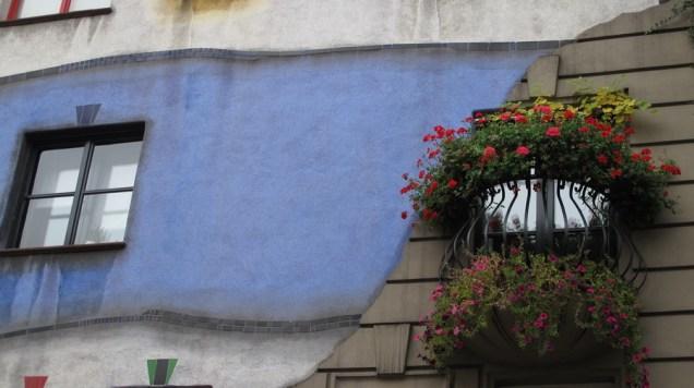 Hundertwasser Haus - detalj
