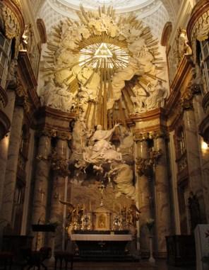 Karlskirche - glavni oltar, Alberto Camesini