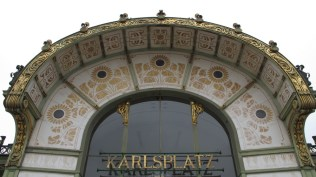 Wagnerov paviljon - detalj