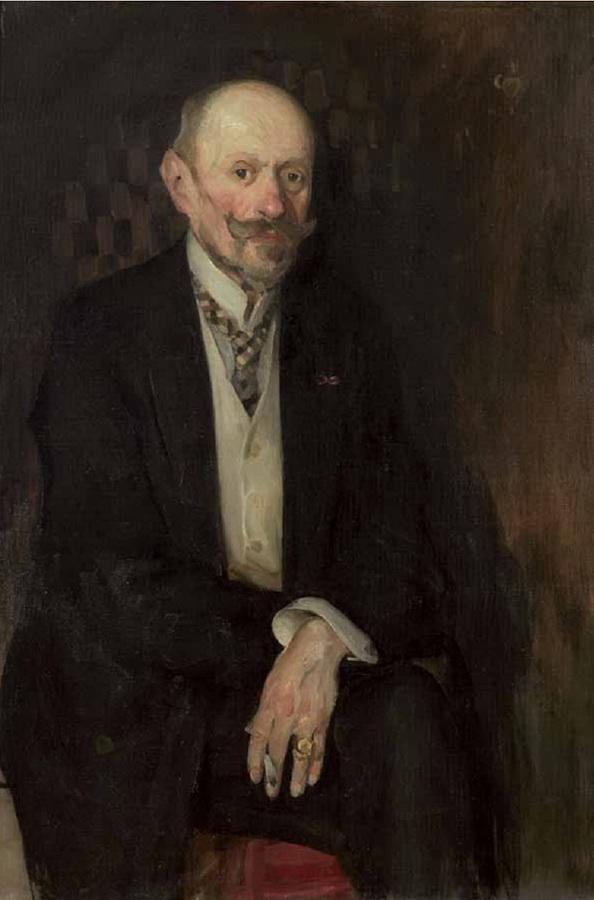 Portret oca, 1911.