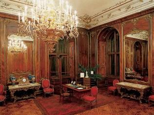 Soba od orahovine / copyright: Schloss Schönbrunn Kultur- und Betriebsges.m.b.H.