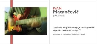 Ivan Matančević - iz kataloga