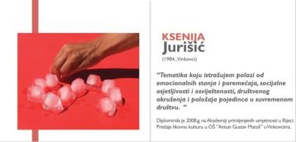 Ksenija Jurišić - iz kataloga