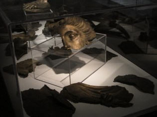 Ulomak glave boga Apolona, Kupa kod Karlovca, 1.st.