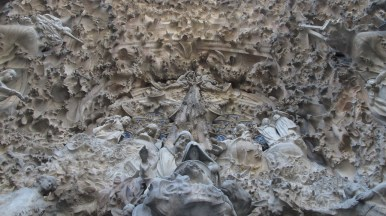 Sagrada Família - pročelje Isusova rođenja - detalj