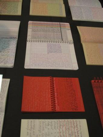 Banalni dnevnici, 1975-2003., bilježnica, kemijske olovke u boji