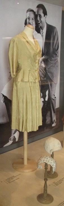 Vjenčani kostim, izvedba Nevenka Parać, Zagreb, 1956.
