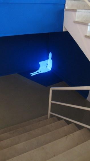 Davor Sanvincenti - Distant Intimacy, audio-vizualna instalacija, 2010.