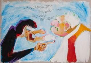 Dundo Maroje - Maroje se ljuti na Bokčila jer je nezahvalan