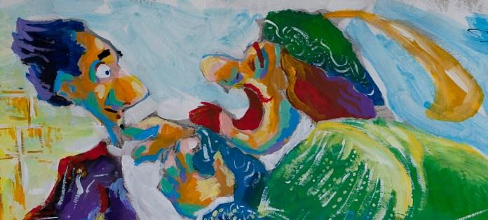 Dundo Maroje - Ugo Tudešak žali se Pometu na Lauru jer mu je slomila srce, detalj