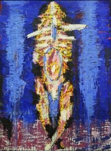 Dolazak, ulje na platnu, 200 x 140cm, 1986.