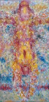 Čupko, ulje na platnu, 200 x 100cm, 2001.