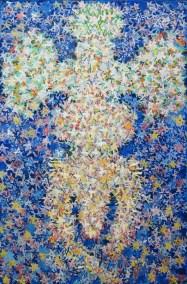Zvjezdoljubac, ulje na platnu, 150 x 100 cm, 2002.