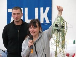 Nina Iris Bešlić i v.d. ravnatelja Zvonimir Tonšetić