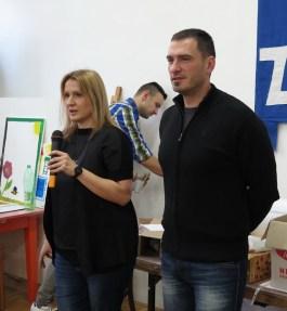 Tatjana Politeo i v.d. ravnatelja Zvonimir Tonšetić