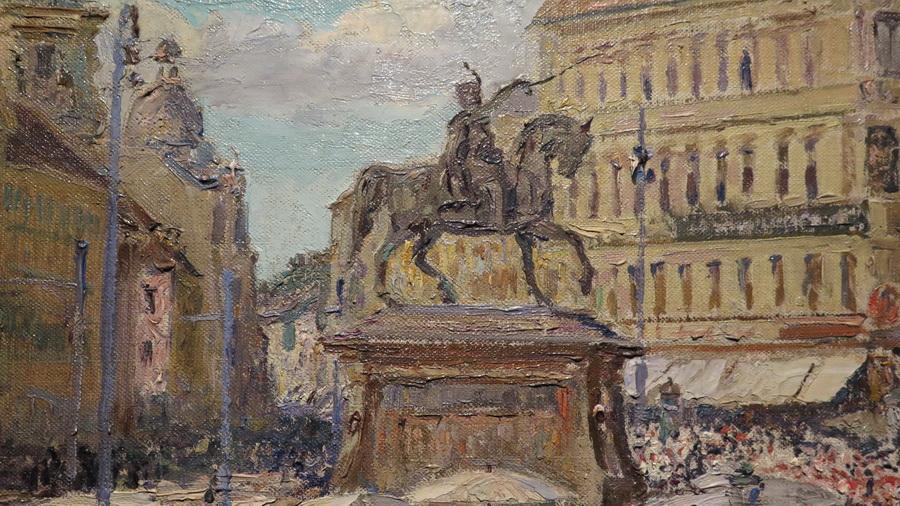 Jelačićev trg, 1911. (detalj)